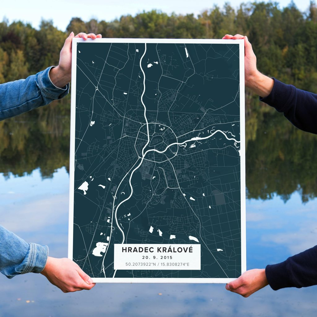 Map poster inspiration
