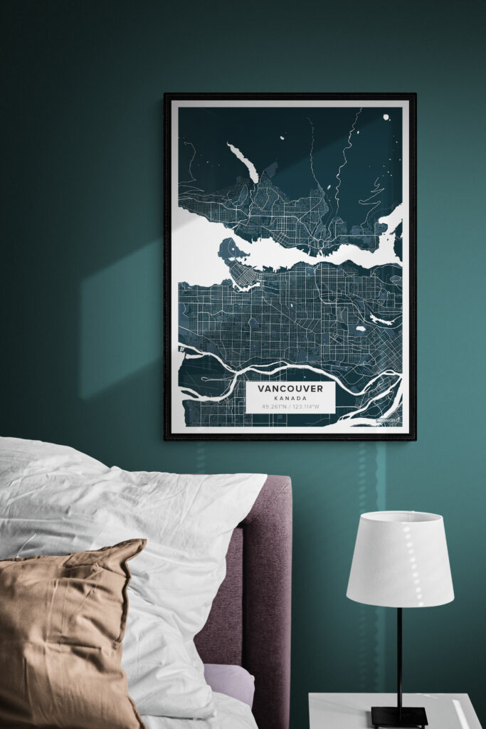 canvas place poster