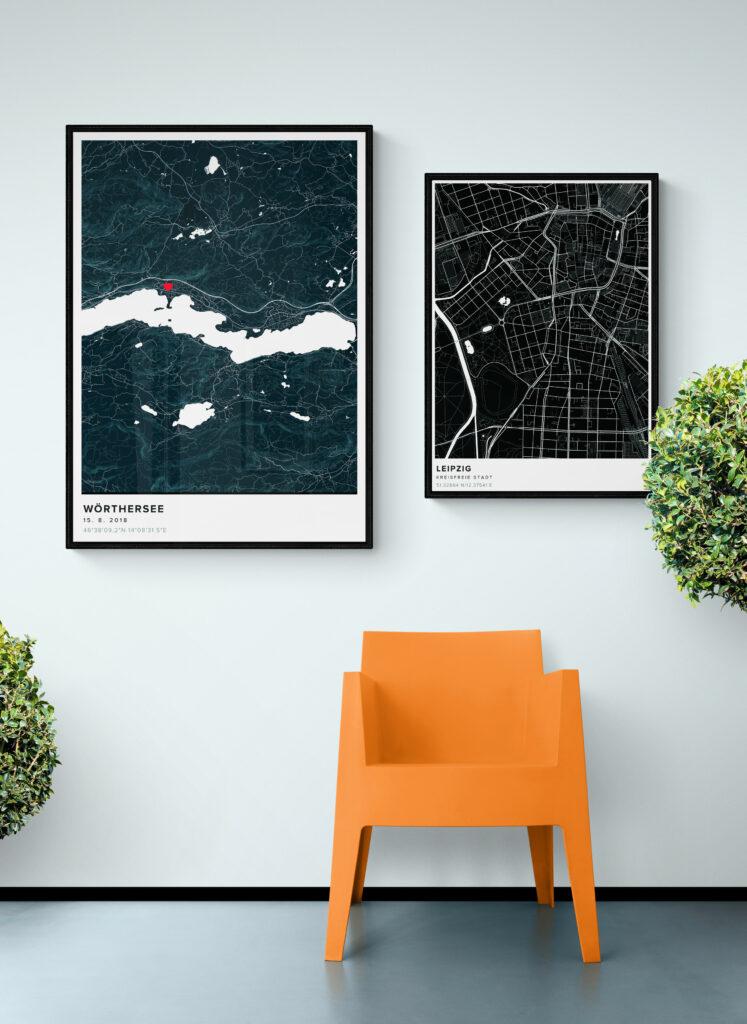 custom city map